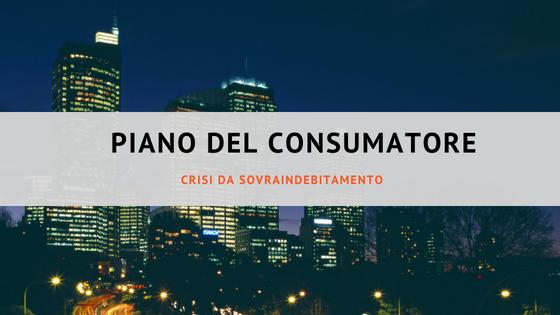 Piano del consumatore