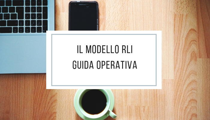Il Modello RLI - guida operativa