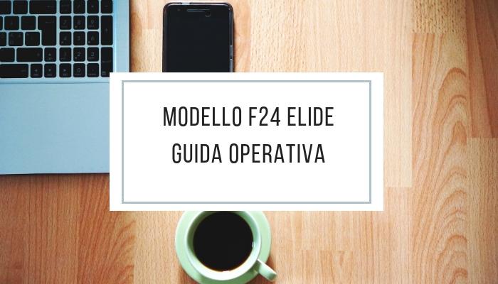 F24 elide - guida operativa