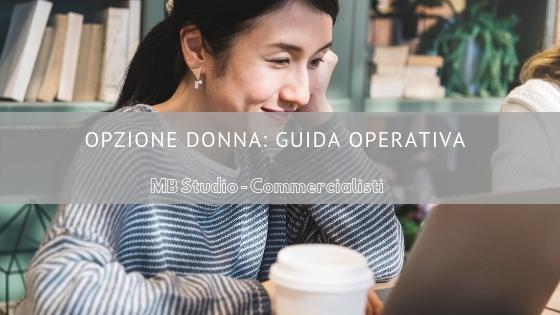 Opzione Donna: guida operativa