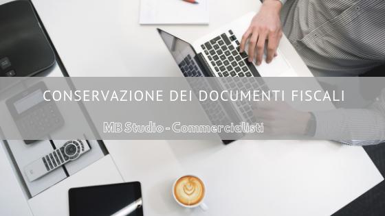 Conservazione dei documenti fiscali