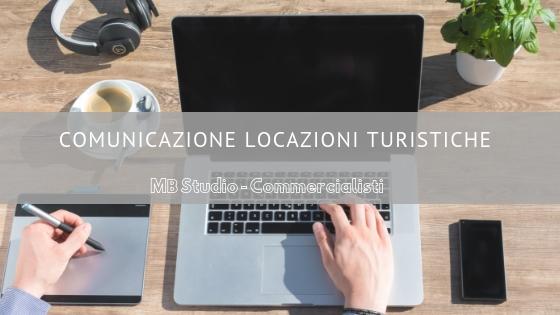 Comunicazione locazioni turistiche